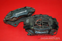 Porsche 993 911 Carrera 2 Rear Left and Right Brake Calipers Brembo Factory OEM