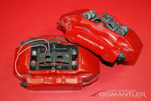 Porsche 911 996 Carrera Front Left and Right Brake Calipers Brembo Factory OEM