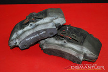 Porsche 986 Boxster 2.5L 2.7L Front Left and Right Brake Calipers Brembo OEM.