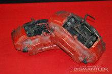 Porsche 911 996 Carrera Front Left and Right Brake Calipers Brembo Factory