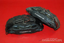 Porsche 993 911 Carrera 2 Front Left and Right Brake Calipers Brembo Factory.