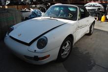 1995 White 911 993 Carrera Cabriolet