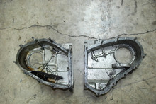 Porsche 911 3.0 3.2 3.3 Turbo 930 Aluminum Chain Housings  Pair Left Right