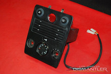 930 Turbo Center Console Trim Cover Panel Black Leather Wrap *Rare*
