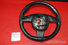 Details about  Porsche 911 991 981 Black Leather Steering Wheel w/ buttons 991.347.803.56 OEM