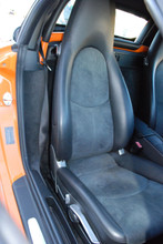 Cayman Boxster Carrera Alcantara Front Seats Leather & Suede OEM