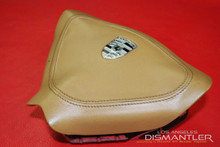 Details about  Porsche 911 996 986 Steering Wheel Airbag Tan Leather 996.803.089.04.8YR OEM