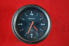 Porsche 911 993 Carrera S Gun Metal Grey Trim Clock Gauge Instrument Cluster VDO