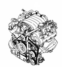 Porsche 970 Panamera V6 3.6L Complete Engine Replacement Motor Used