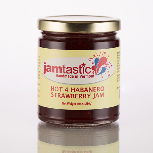 Hot 4 Habanero Strawberry Jam