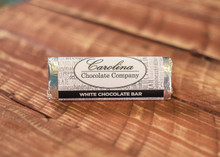 White Chocolate logo Bar