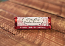 Dark Chocolate Cayenne logo Bar