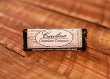 Dark Chocolate Espresso logo Bar