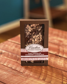 Dark Chocolate Cranberry Almond Gourmet  Bar