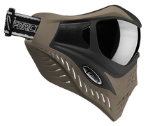 VForce Grill SC Paintball Goggles - Black Taupe