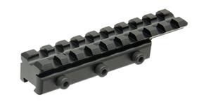 UTG New Gen Dovetail to Picatinny/ Weaver Adaptor Mount - Black