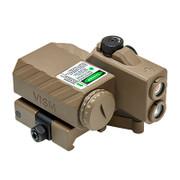 NcSTAR Offset Green Laser Designator w/NAV LEDs -Tan