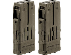 DYE Paintball DAM 10rd Magazine 2 Pack - Dark Earth