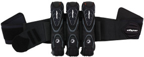 FREE LOCKLIDS - DYE Assault Pack Harness 3+4 - Blk/Gry
