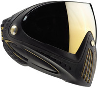 DYE i4 Invision Paintball Goggles - Black/Gold