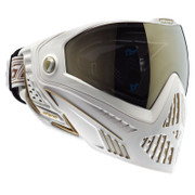 DYE i5 Invision Paintball Goggles - WHITE/GOLD