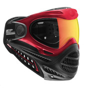 DYE Axis Pro Thermal Paintball Goggles - Red