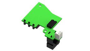 DYE Rotor Gear Box Circuit Board w/ Connectors