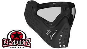SALE! G.I. Sportz Sleek Paintball Field Goggles - Black
