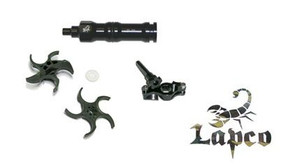 Lapco 3 Piece Cyclone Feed Upgrade Kit