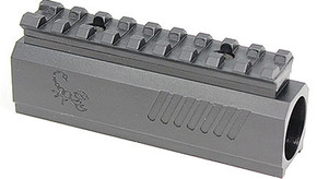 Lapco TiPX Front Block with Picatinny Rail - Black