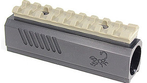 Lapco TiPX Front Block with Picatinny Rail - Flat Dark Earth
