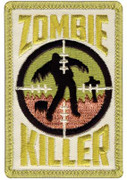 Zombie Killer Velco Patch