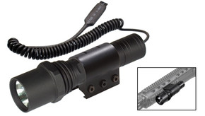UTG Tactical Xenon Flashlight w/ Switch and Mount