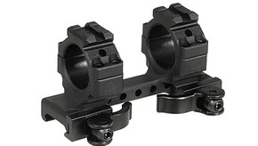 "UTG Integral QD Dual 1"" Ring Mount w/ Picatinny Rails"