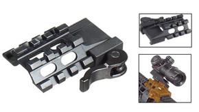 UTG Grade 3 Slot Angle Tri-Rail w/ Quick Release