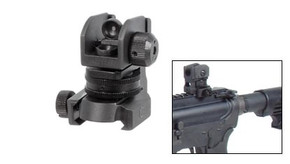 UTG A2 Adjustable Rear Sight w/Quick Release
