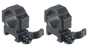 "UTG Picatinny Quick Detach 1"" Scope Rings - Low Profile"