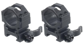 "UTG Picatinny Quick Detach 1"" Scope Rings - Med. Profile"