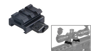 "UTG Grade 2 Slot 0.5"" Low Profile Riser Mount/Rail"