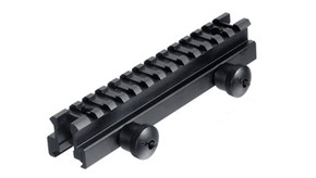 "UTG Grade 13 Slot 0.8"" Medium Profile Riser Mount/Rail"