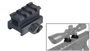 "UTG Grade 3 Slot 0.8"" Medium Profile Riser Mount/Rail"