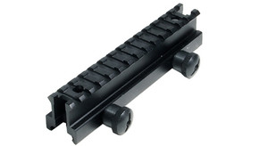 "UTG Grade 13 Slot 1.0"" High Profile Riser Mount/Rail"