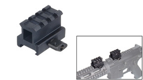 "UTG Grade 3 Slot 1.0"" High Profile Riser Mount/Rail"
