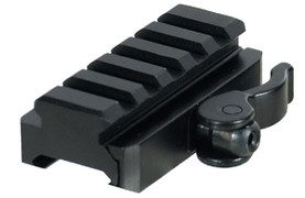 UTG Grade 5 Slot Universal Riser with QD Adapter