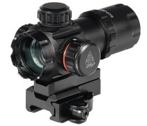 "UTG 3.9"" 30mm Red Dot Combat Sight w/ Quick-Disconnect Mount"