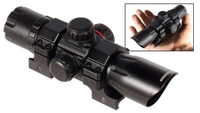"UTG 6.4"" 30mm Red/Green Dot Sight w/ QD Mount"