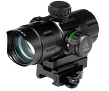 "UTG 4.0"" 38mm Red Dot Combat Sight w/ Quick-Disconnect Mount"
