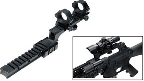 UTG Tactical Carry Handle Z Rail Mount w/Rings