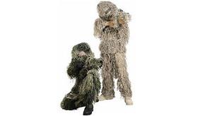 Boy's Ghillie Camouflage Suit - Desert Camo - S/M