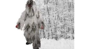 Ghillie Sniper Camouflage Suit - Snow Camo - M/L